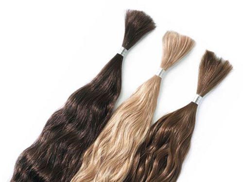 Immagine di Hair extension - Capelli sfusi mossi naturali