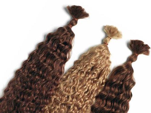 Immagine di Hair extension - Capelli sfusi ricci con permanente